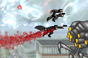 Matrix Side Scrolling Fighter